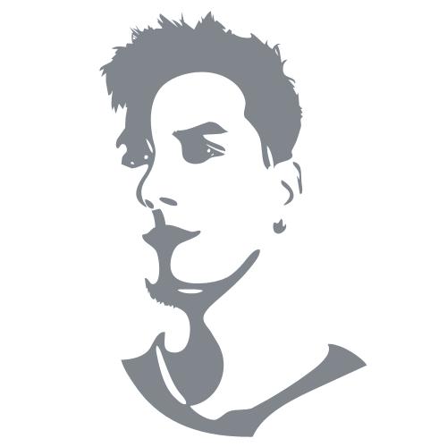 Layers, Grafik, Portrait, Selbstportrait