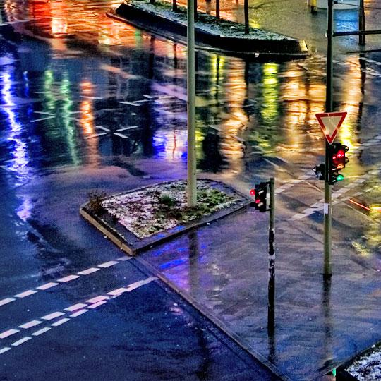 Kreuzung am Hermannplatz