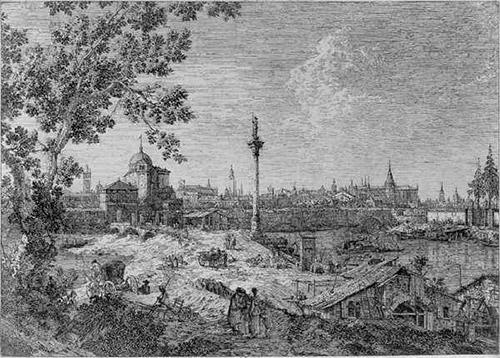 Antonio Canal, gen. Canaletto, Fantasie-Vedute von Padua