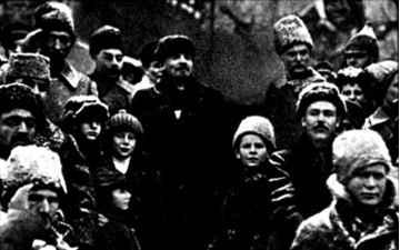 Lenin - Retuschiert
