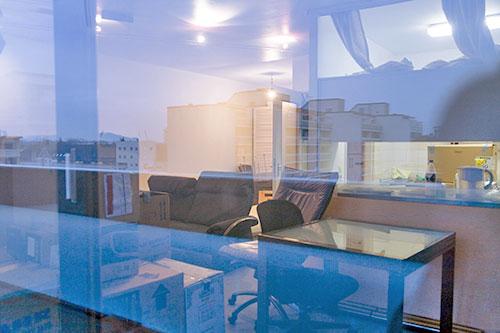 Wohnung, Umgebung, Reflektion