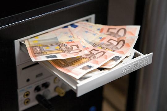 Geld im Fach