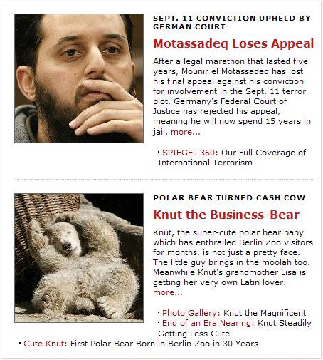 Knut vs Motassadeq