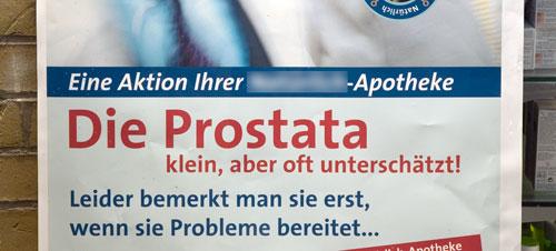 Die Prostata - klein, aber oft unterschätzt! - Leider bemerkt man sie erst, wenn sie Probleme bereitet…