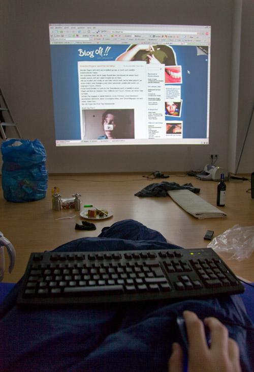 Beamer als Computer-Monitor