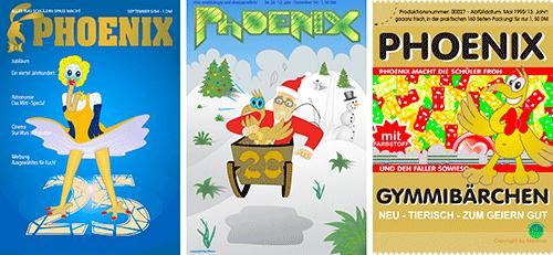 Phoenix-Cover Ausgabe 25-27