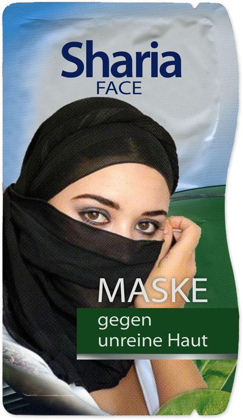 Sharia Face - Maske gegen unreine Haut