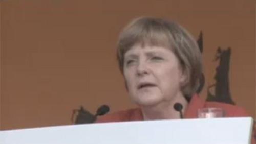 Merkel Rede