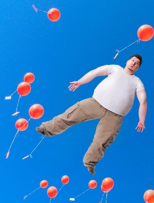 Fetter Manniac-Ballon