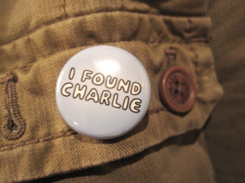 Der I found Charlie-Button!