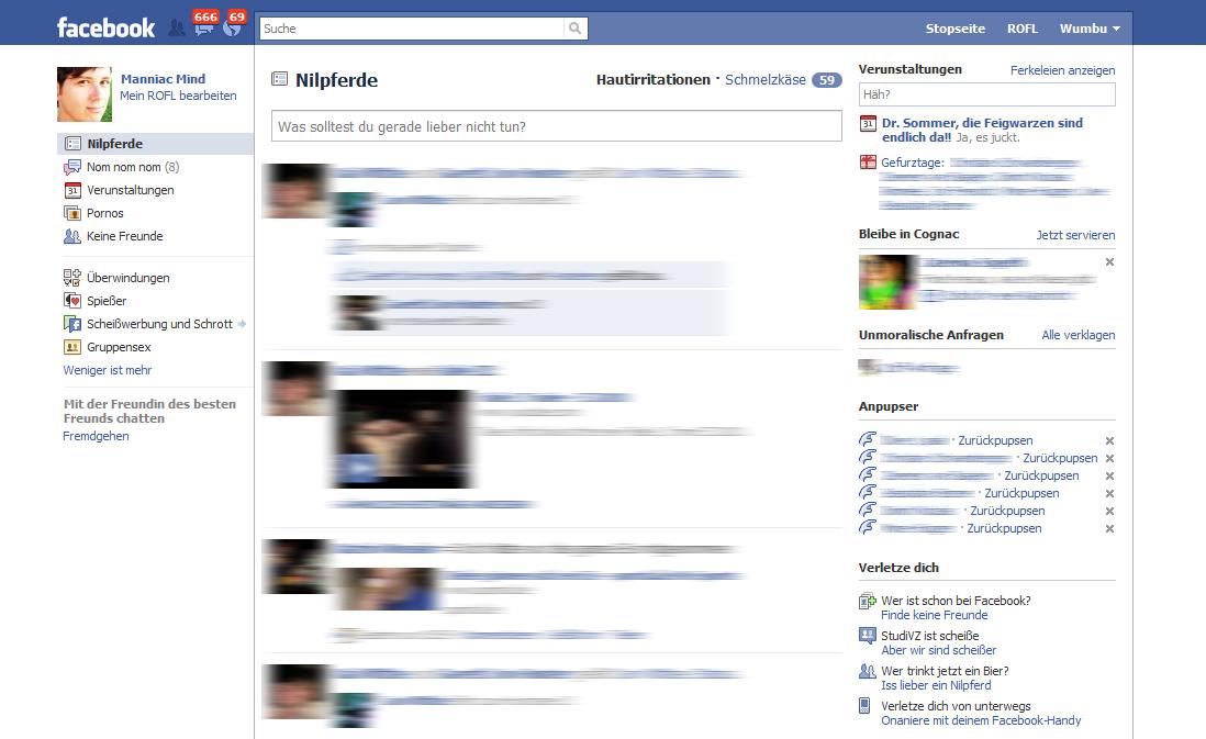 Facebook manniac punkt null m 0