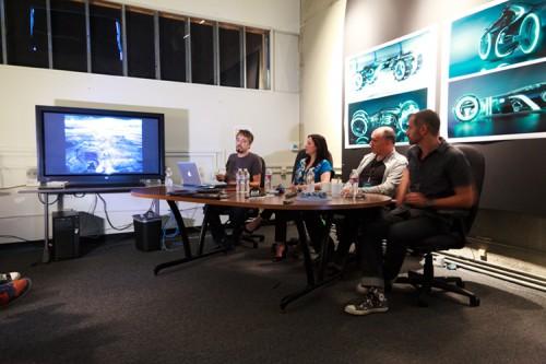 Interviews mit den Kreativen des Films TRON: Legacy