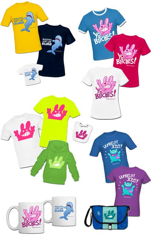 T-Shirts und anderer Kram von manniac