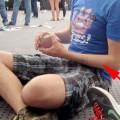 Ein Fan hat manniacs Arm signiert.