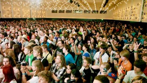 Videoday 2011: Nilpferde und andere YouTuber